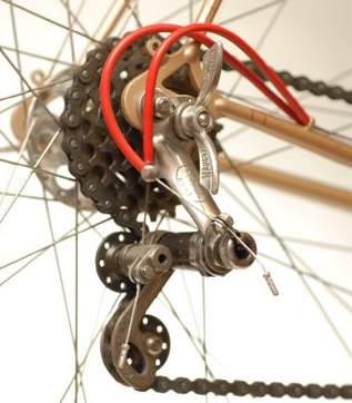 Louison Bobet rear changer showing twin-cable configuration