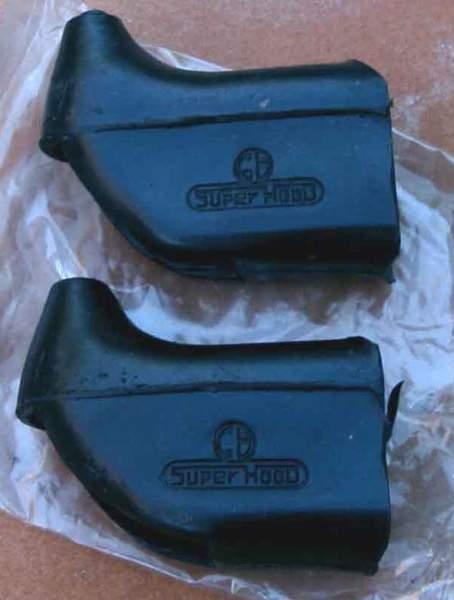 Super hood brake hoods for the Superhood or Superhood Plus. Slots need to be cut in for adjusters.