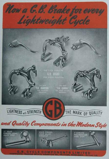 1949 catalogue from Cycling show edition