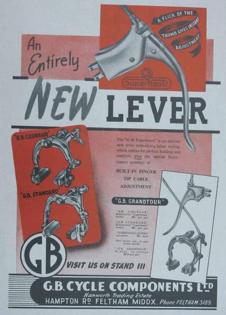 1951 catalogue from Cycling show edition