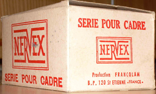 This is a Nervex box which will hold a complete set of lugs. Some builders could well stock 50+ boxes of each type of lug. The Professional though was by far the most popular. When the market collapsed in the fifties obviously many builders were left with lots of these lugs which is why they were available until quite recently. Even now the odd set surface to the delight of the lucky purchaser.