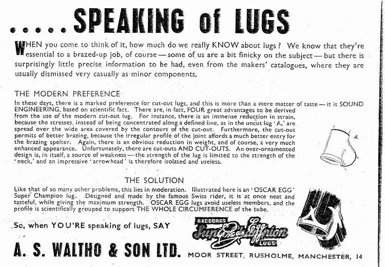 An informative advert, believed late '40s