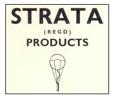 Strata logo from catalogue ca.1950 (Courtesy-V-CC library)
