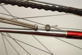 Double chainstay stops essential for this gea