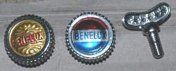 Benelux control lever dampers Cyclo Benelux Parts List & Prices 1962