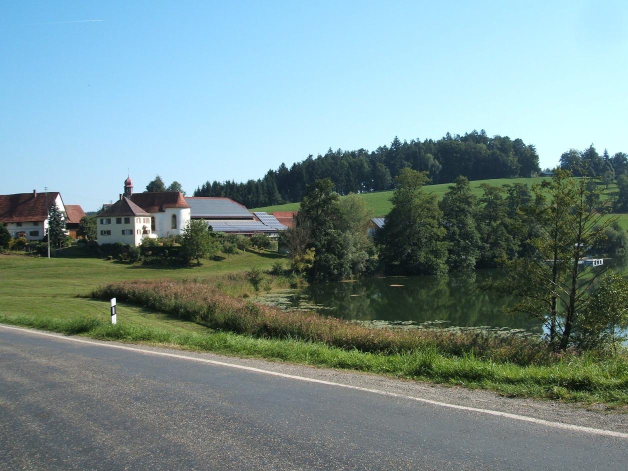 Typical Allgau scenery, miles of quiet roads