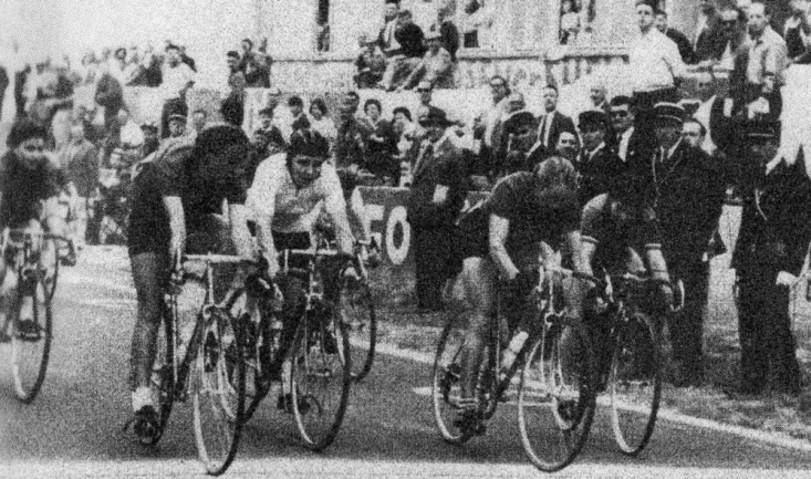 Sprint for second place