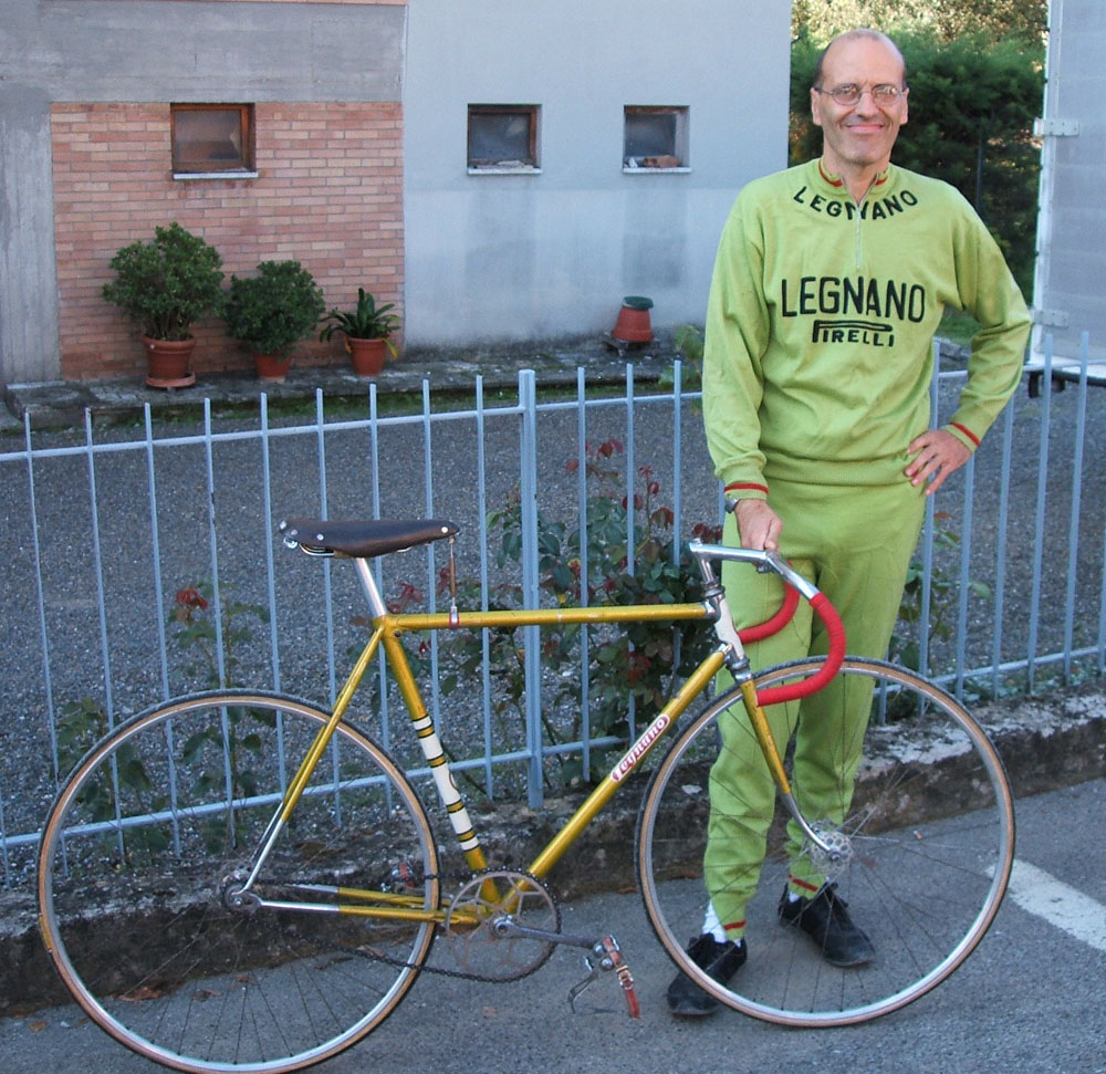'Legnano Man' - well we all do a bit of posing don't we?