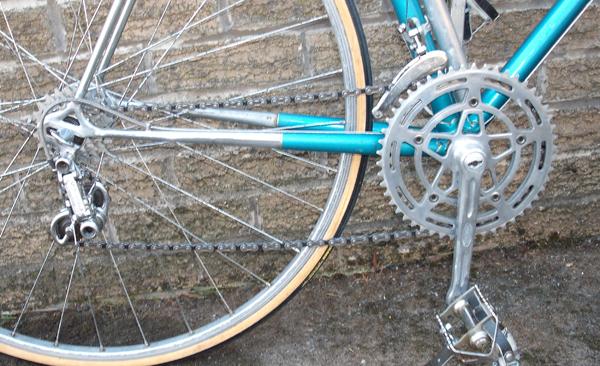 All-Campagnolo drive chain