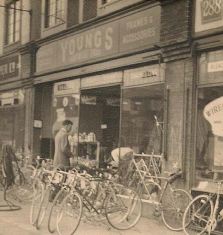 Young's shop front early 50's before they took over 288