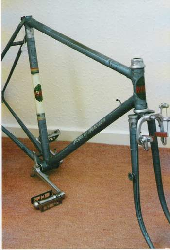 The Raceweight as purchased before it was restored