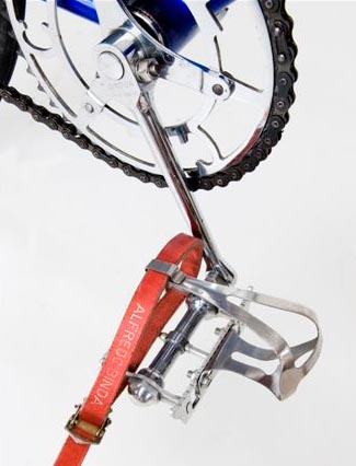 Chater-Lea round cranks with Lytaloy pedals