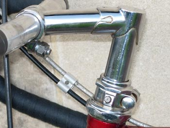 Unique RRA stem and head set with oiler