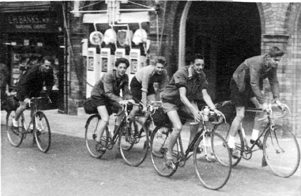 Members of the Blackpool RC on holiday - 1952