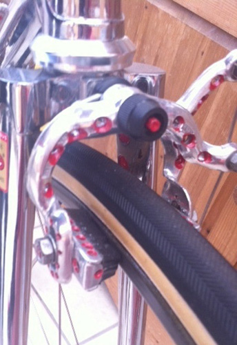 Cinelli bars and Weinmann brake drillings à la Alf Engers