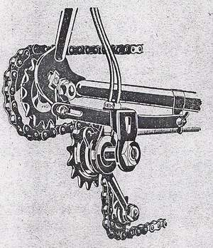 Cyclo 2-speed gear (Universal type)