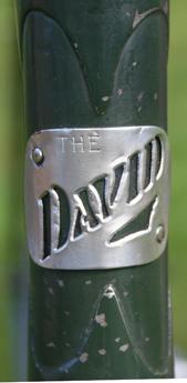 'The David' original hand crafted head badge