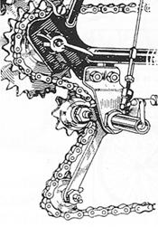 The conventional TriVelux Bderailleur