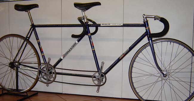 One of the two Jack Taylor 'Track Tandems' - the other is transferred as 'Peugeot'