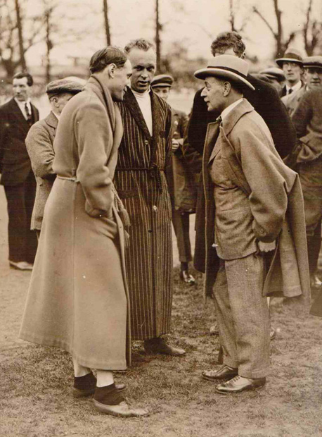 The photo was taken at a Herne Hill Good Friday Southern Counties Meeting. It has to be prior to 1936 -Image Mick Butler
