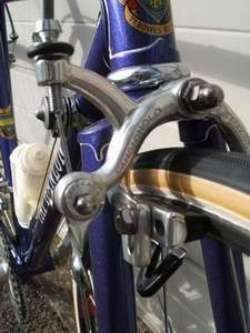 Campagnolo brakes with AK stirrup fitting and Super Record levers