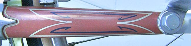 Distinctive double-lining on fork blades