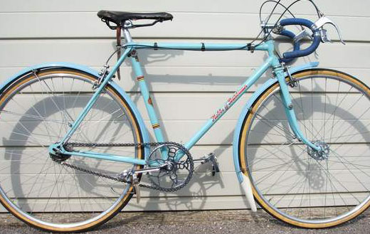 The Hobbs Superbe before the 2009 restoration with Sturmey-Archer FM gear