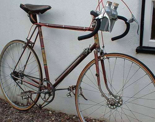 Gerald's Jack Green of Wolverhampton cycle - details in Readers' Bikes