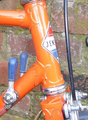 Nervex Professional lugs and fork crown