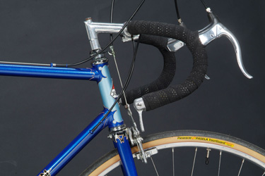 head tube with 72º parallel angles