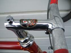 Cinelli steel badged stem with Reynolds alloy bars