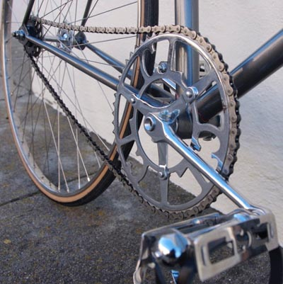 Chater-Lea round cranks with Chater Sprint pedals