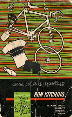 a cover image of a well-thumbed 1963 edition of Everything Cycling