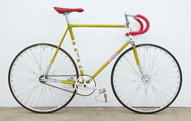 Legnano as I found it, and it's first build prior to riding.
