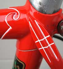 images of Vigorelli / Vincitore lugs on this frame