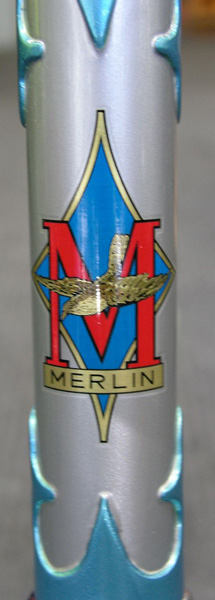 Restored paintwork with reproduced headbadge