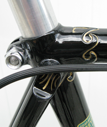 Seat and bottom bracket lugwork