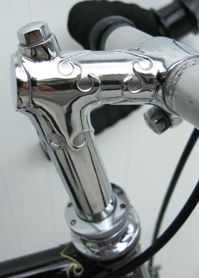 Custom stem made by H R Morris