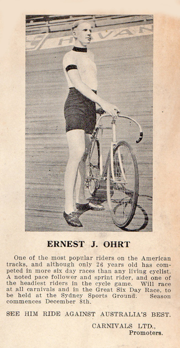 Pre-season publicity for the Ohrt brothers tour of Australia