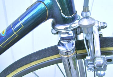 drilled Campagnolo 2-pin seat pillar