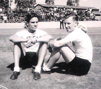 Lew Pond & Alan Bannister