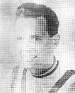 Alan Geldard, a poster designer who is 24, was also a member of the British Empire Games Team in 1950