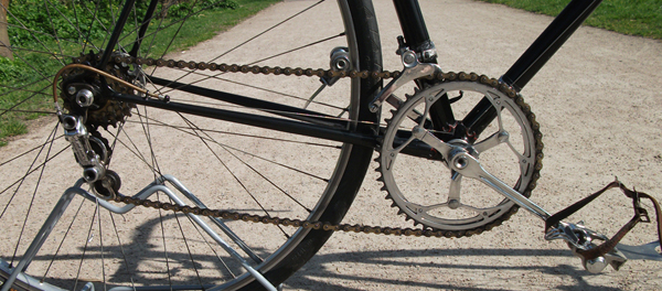 Campagnolo Gran Sport front and rear derailleurs with Williams 1232 double chainset
