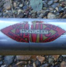 Mavic Montlhery sprint rim badge