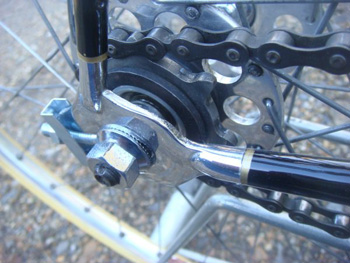 Inch-pitch block chain, sprocket and Chater-Lea chainset