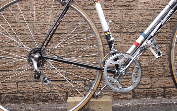 Drive with Huret Tour de France rear changer which I preferred as it was a simpler gear