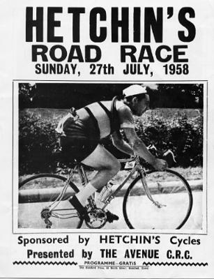 1958 race flyer.