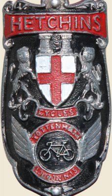Head tube badge.